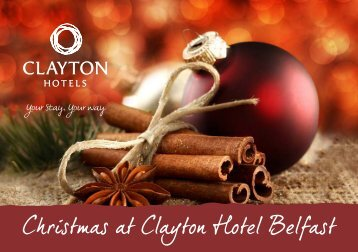 Christmas at Clayton Hotel Belfast