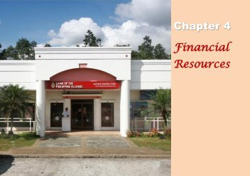 Chapter 4 Financial Resources