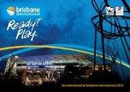 be entertained at brisbane international 2013