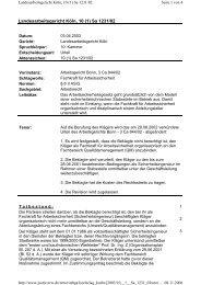 Landesarbeitsgericht Köln, 10 (1) Sa 1231/02 - VDSI