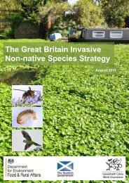 The Great Britain Invasive Non-native Species Strategy