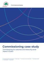 Commissioning case study