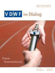 VDWF im Dialog 2/2006