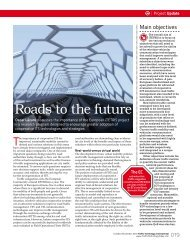 Roads to the future
