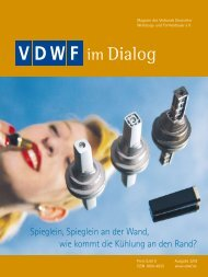 www.euromold.com 02.- 05. Dezember 2009 Werden Sie ... - VDWF