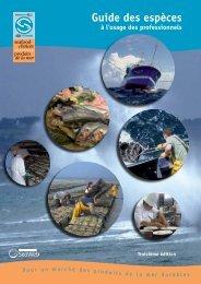 Guide des espèces - Mes courses pour la planète