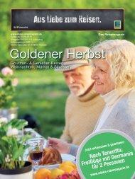 EDEKA Reisemagazin Ausgabe September 2015