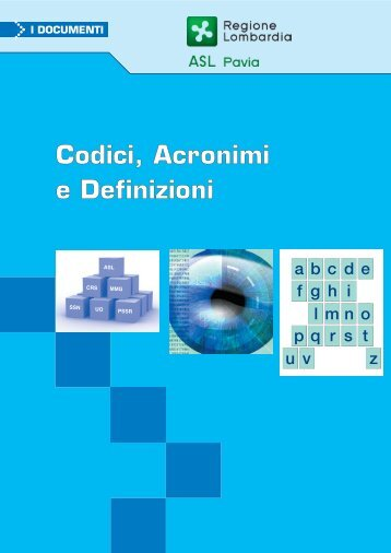 Codici Acronimi e Definizioni