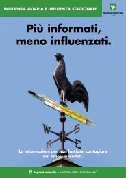 Più informati meno influenzati
