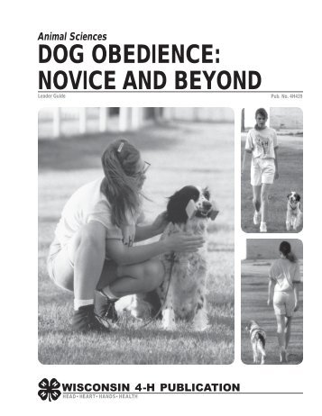 DOG OBEDIENCE: NOVICE AND BEYOND - Lake County Extension