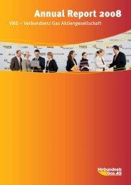 Annual Report 2008 - VNG Verbundnetz Gas AG