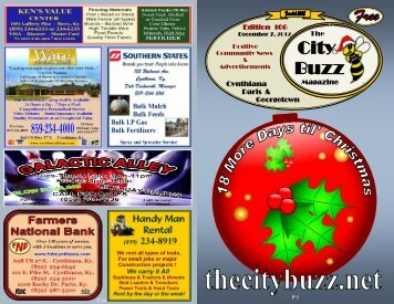 Edition 106 - The City Buzz Magazine