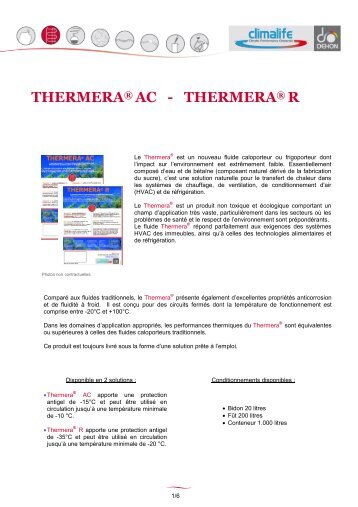THERMERA AC - THERMERA R