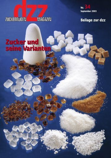 Zucker und seinen Varianten - VSZ