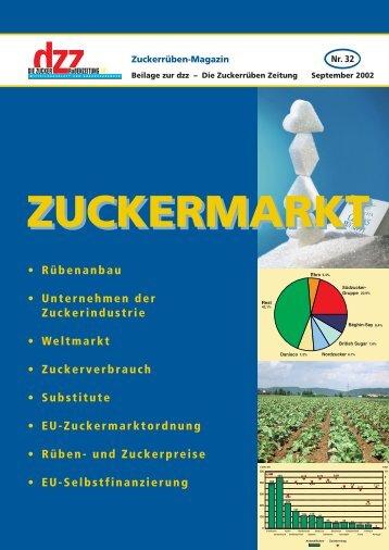Zucker- Markt Zucker - VSZ