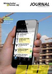 2. Ausgabe 2011 - Winterhalter + Fenner AG