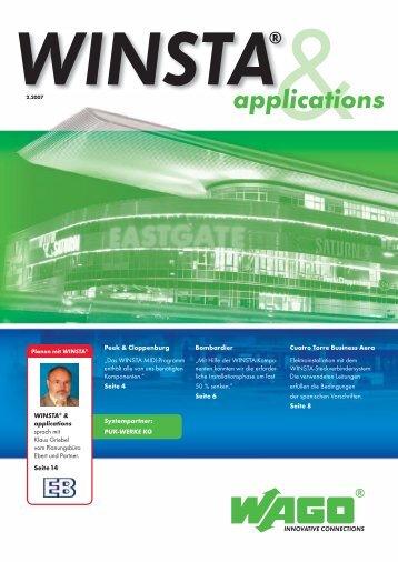 WINSTA applications 2-07.indd - Wago
