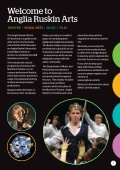 Anglia Ruskin What's On Arts Autumn/Winter 2015 - Page 3