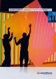 Kunst-Licht für... Licht-Kunst und Architektur - Westiform