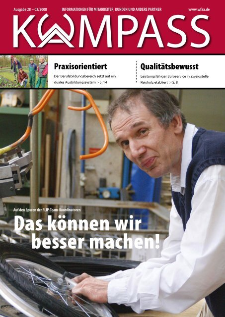 Kompass 28.pdf - Werkstatt für angepaßte Arbeit GmbH