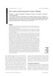 Diet, Nutrition And The Prevention Of Type 2 - World Health ...