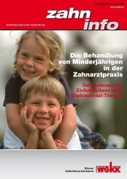 Zahn Info Juni 2009 - Wiener Gebietskrankenkasse