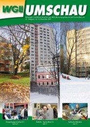 Umschau 4-2011 - WGLi Wohnungsgenossenschaft Lichtenberg eG