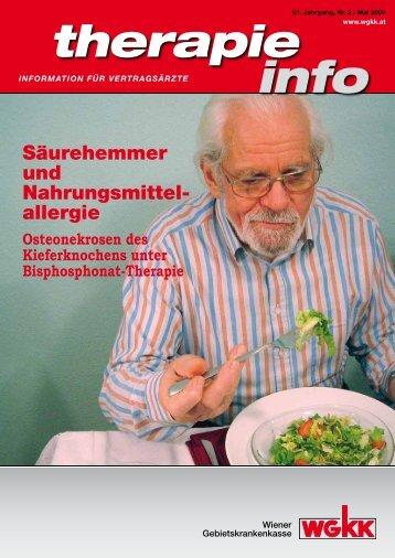 Therapie Info Mai 2009 - Wiener Gebietskrankenkasse