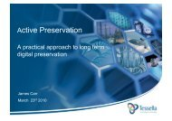 Active Preservation