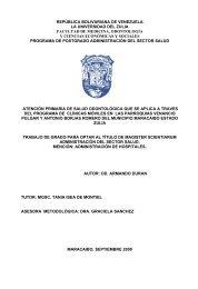 2 república bolivariana de venezuela la universidad del zulia ... - inicio