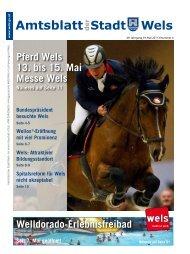 Amtsblatt der Stadt Wels Mai 2011 (13 MB