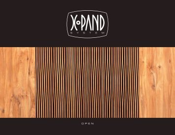 O P E N - xpand system furniture collection