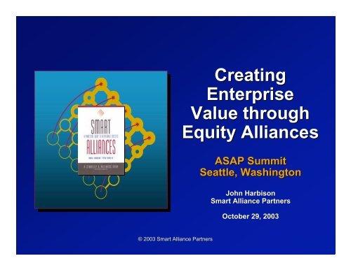 Alliances - Smart Alliance Partners
