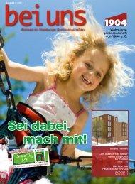 bei uns 01/2011 - Wohnungsgenossenschaft von 1904 eG