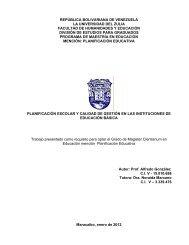 república bolivariana de venezuela la universidad del zulia ... - inicio