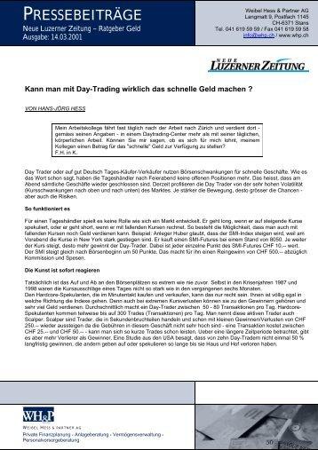 Antwort im PDF-Format - WH&P Weibel, Hess & Partner AG