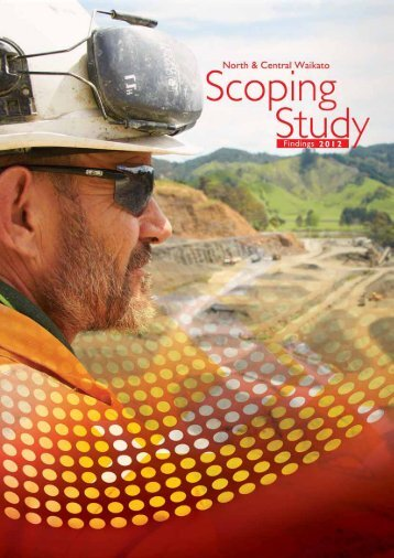 North & Central Waikato Scoping Study Findings 2012