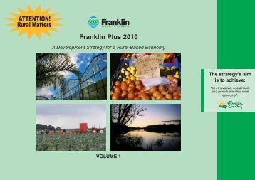 Franklin Plus 2010 - Waikato District Council