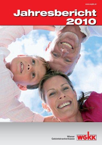 Jahresbericht 2010.indd - Wiener Gebietskrankenkasse