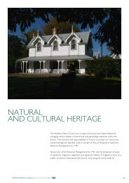 NATURAL AND CULTURAL HERITAGE