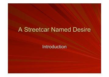 A Streetcar Named Desire - Nevermindthebllcks