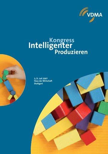 Kongress Intelligenter Produzieren - xPLM