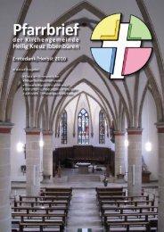Erntedank/Herbst 2010 - Katholische Kirchengemeinde Heilig Kreuz