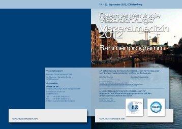 Kinderbetreuung - Viszeralmedizin 2012