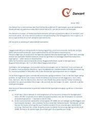 Tilskrift til Poul Erik Hjorths artikel om CE-mærkning - bef.dk