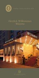 Herzlich Willkommen Welcome - Hotel Hessischer Hof