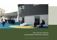 The Concrete Industry Sustainability Performance Report ...