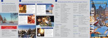 Winter-Erlebnisse 2012 - Tourismus Region Hannover eV