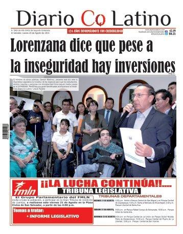Edición 20 de Agosto de 2015