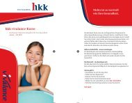 hkk vivalance-Kurse (Bremer Präventionsangebote, Jan. - Juli 2012 ...